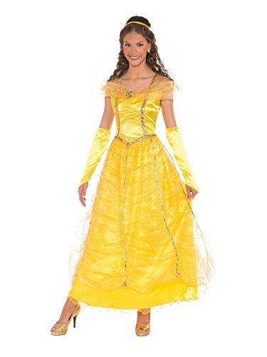 Forum Novelties Women's Golden Princess Costume, Gold, -