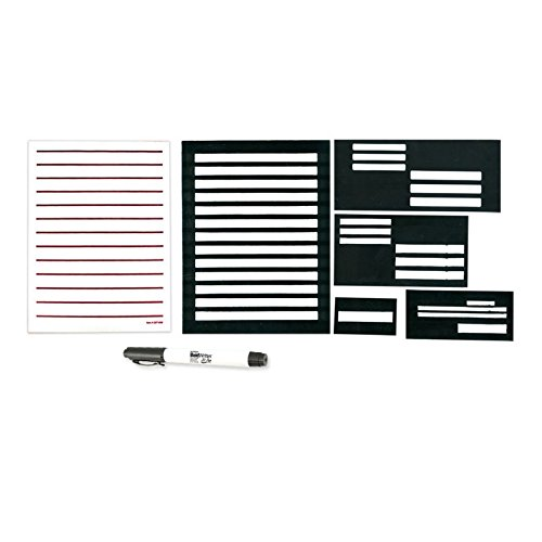 Superior Writing Guide Kit with BoldWriter 20 Pen and Low Vision Paper
