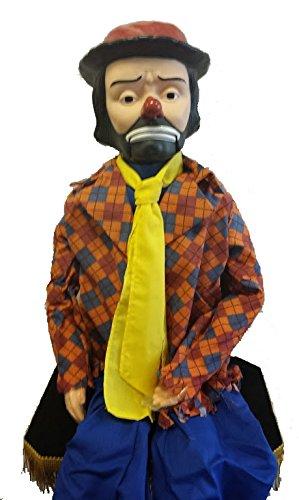 Emmett Kelly Jr Standard Upgrade Ventriloquist Dummy by ThrowThings.com