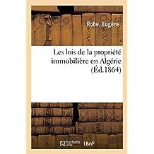 Les Lois de la Propriété Immobilière En Algérie