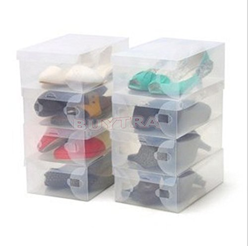 BESTIM HOT SALE Transparent Shoe Boxes Clear Plastic PP