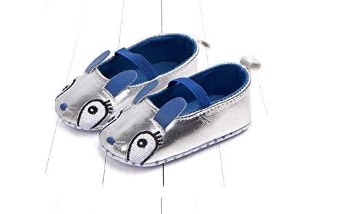 Cartoon Bunny Baby Toddler Shoes (Blue, 11cm)