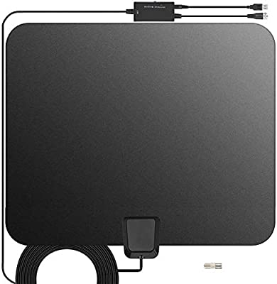 INDOOR Digital TV ANTENNA 50 Mile HDTV UHF VHF 25DB Signal Booster HOME TN