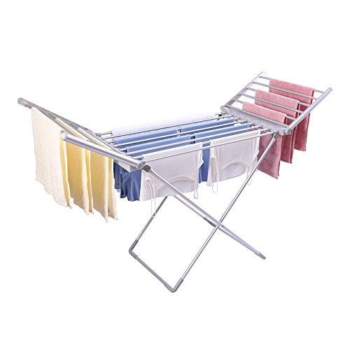 Aluminum Alloy Clothes Laundry Drying Rack-electric Mute Dry