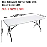 ABCCANOPY Spandex Tablecloths for 5 ft Home