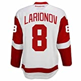 Igor Larionov Detroit Red Wings Road Jersey by Reebok, Red, Large
