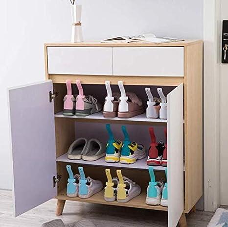 robusto strumento antiscivolo blu Tookss 1pz Lazy Unisex Indossare calzascarpe Helper Shoehorn scarpe facile da mettere e togliere