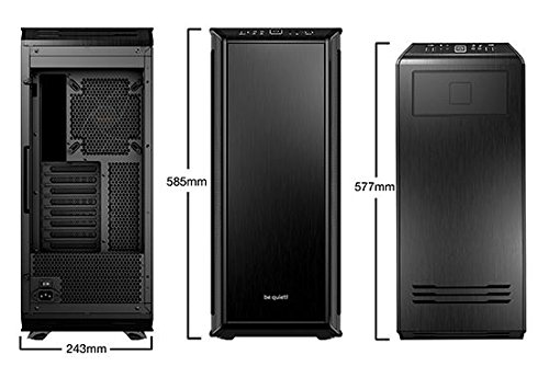 be quiet! BGW11 DARK BASE PRO 900 ATX Full Tower Computer Chassis - Black by be quiet! (Image #2)