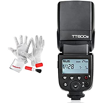 Godox Thinklite TT600S GN60 Camera Flash Speedlite with Built-in Godox 2.4G Wireless X System for Sony Cameras with Multi Interface Shoe - 0.1-2.6s Recycle Time 230 Full Power Flashes
