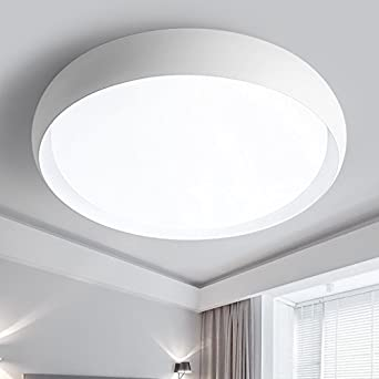 Lilamins Round Led Ceiling Light Minimalist Modern Living Room Lamp Lights Balcony Aisle Dimmer Lighting Drum