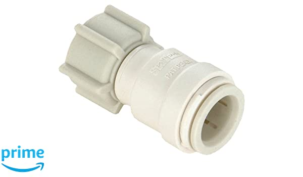 """1//2/"""" FIP x 1//4/"""" CTS Watts P-672 Quick Connect Swivel Female Straight Valve"""