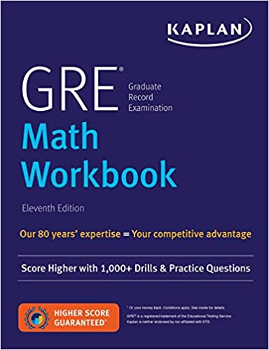 Gre Math Practice Book