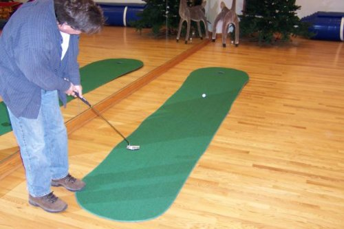 Big Moss Golf THE AUGUSTA EX PRO 4' X 15' Practice Putting Chipping Green