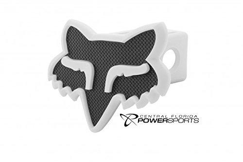 NEW 2015 Fox Racing Black White Fox Head Trailer Hitch 2 Cov