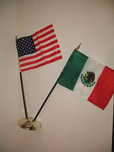 US USA American and Mexico Mexican Friendship 4