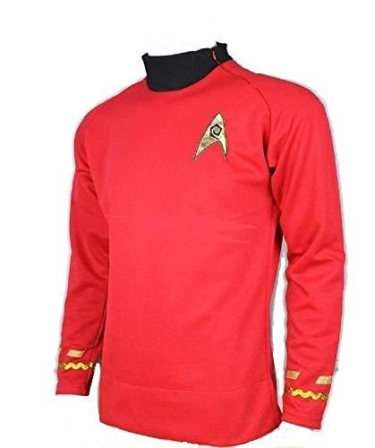 Star Trek Scotty Medicine Classic Red Costume Uniform Shirt TOS -