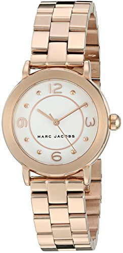 마크제이콥스 라일리 시계 Marc Jacobs Womens Riley Rose Gold-Tone Watch - MJ3474