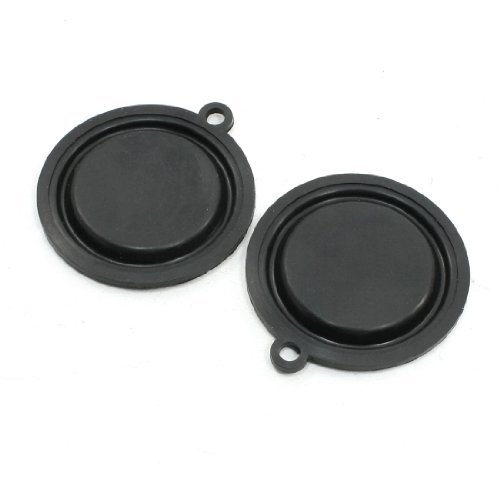 Water & Wood Water Heater Parts 55mm Dia Rubber Diaphragms Seal Gasket 2 Pcs