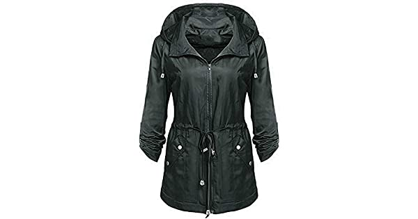 Amazon.com: Dreamyth-Raincoat - Chaqueta de invierno con ...