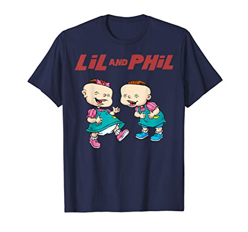 Rugrats Lil And Phil Laughing Poster  ()
