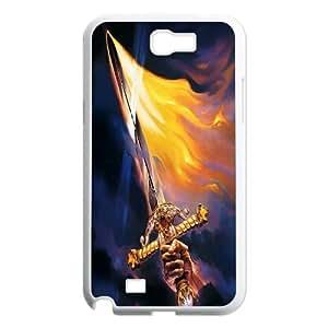 [MEIYING DIY CASE] For Samsung Galaxy Note 2 Case -Sword Pattern-IKAI0446932