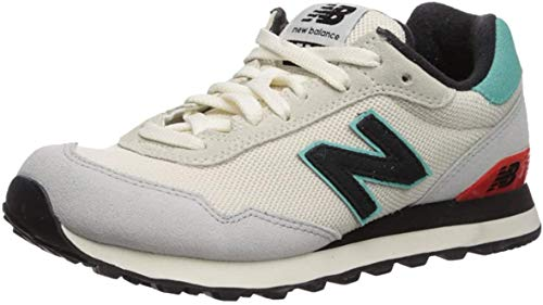 New Balance Women's 515 V1 Sneaker, Summer Fog/Light Tidepool/Coral Glow, 12 W US