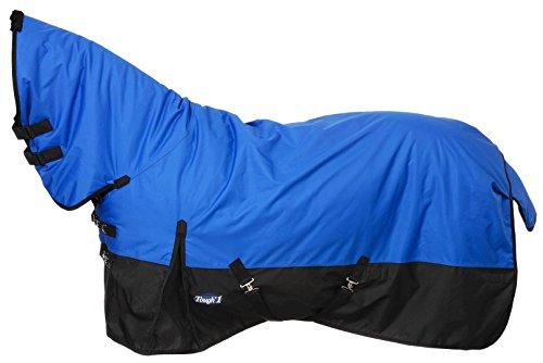 Tough 1 Tough-1 600D Waterproof Poly Full Neck Turnout Blanket, Royal Blue, 84'' by Tough 1