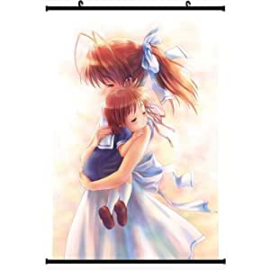 """Anime World Japanese Anime Style CLANNAD Wall Scroll Poster (24''*35"""")support Customized"""