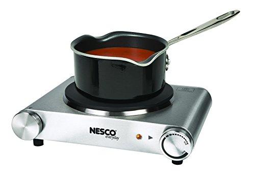 Nesco SB-01 Stainless Steel Electric Burner, 1500-watt by Nesco (Image #1)