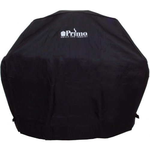 Primo 414 Grill Cover for Oval XL in Compact Table, Oval XL in Cart and Oval Junior in Table ()