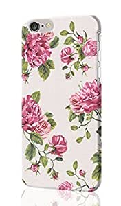 """ijffinger Un Bisou Patterned Floral Roses Leaf Feature 3D Rough iphone 6 -4.7 inches Case Skin, fashion design image custom iPhone 6 - 4.7 inches , durable iphone 6 hard 3D case cover for iphone 6 (4.7""""), Case New Design By Codystore"""