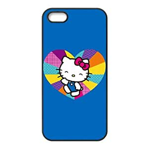 Hello Kitty Skipping iPhone 4 4s Cell Phone Case Black Delicate gift AVS_556266