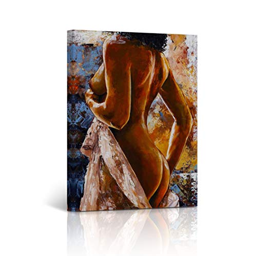 Buy4Wall Canvas Print Nude Art Sexy Woman Back