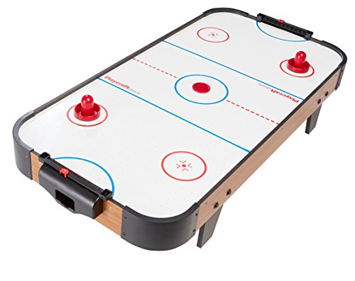 Playcraft Sport 40-Inch Table Top Air Hockey Red Hockey Game Table