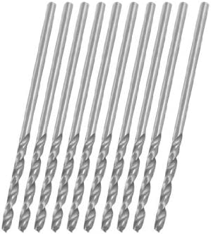 1.25mm straight stem helical helical drill bit 10 pieces