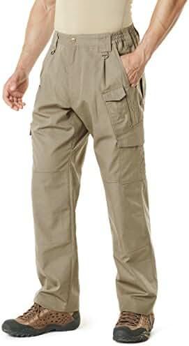 CQR Men's Tactical Pants Lightweight EDC Assault Cargo TLP103/104/105