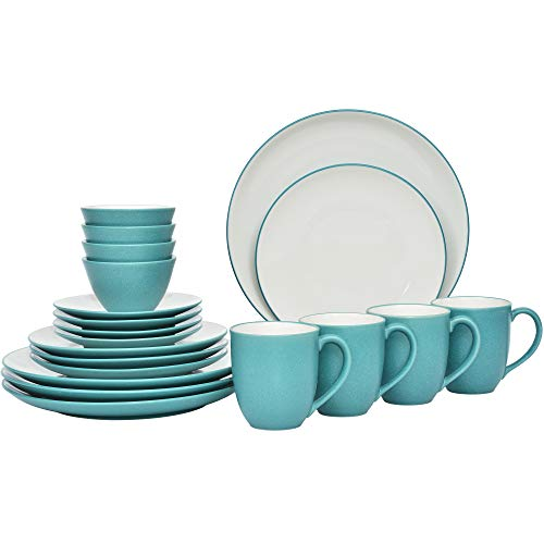 Noritake Colorwave Turquoise 20-Piece Value Set in Blue/Green/Turquoise