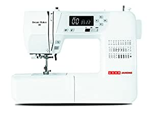 Usha Janome Dream Maker 30 35-Watt Computerized Sewing Machine (White)