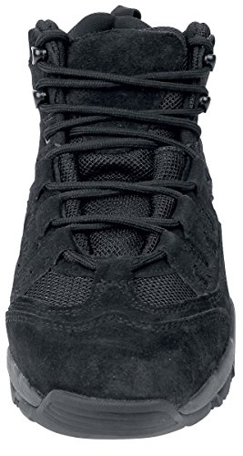 Brandit Mens Shoes Outdoor Trail Mid Negro