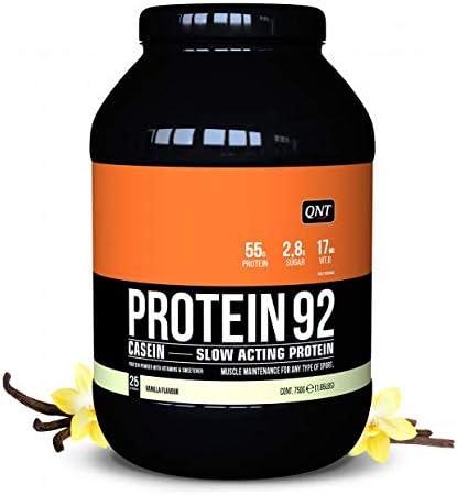QNT Protein Casein 92, Sabor Vanilla - 750 gr: Amazon.es ...