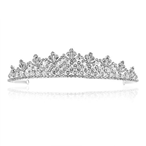 Handmade Bridal Pageant Rhinestone Crystal Prom Wedding Tiara Crown T934