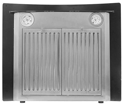 SURYA-Auto-clean-Electric-Kitchen-Chimney-SS-Black-With-Hand-Wave-Sensor-Auto-Clean-Gas-Sensor-Wave-Sensor-Baffle-Filter-Touch-Panel-In-Stainless-Steel