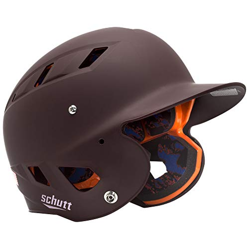 Schutt Sports AiR 5.6 Softball Batter's Helmet, Matte Maroon, Medium ()