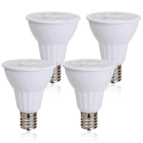 Haian E17 Reflector R14 Bulb, E17 LED Light Bulb for Reading Lamp,Cabinet Lamp,Desk Lamp,5 Watt(50W Incendescent Equivalent), 400 Lumens, Cool White 6500K Non-dimmable (4 Pack)