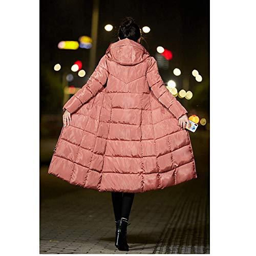 Lungo Rosa Casual L Con Invernale Cappotto Bianca Cappuccio Dimensione colore Sottile Chinese Uomo Da Fuweiencore pqHTSx