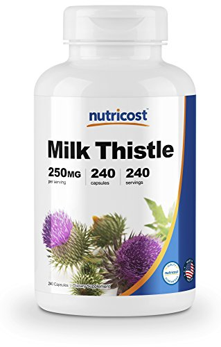 Nutricost Milk Thistle 250mg; 240 Capsules Review