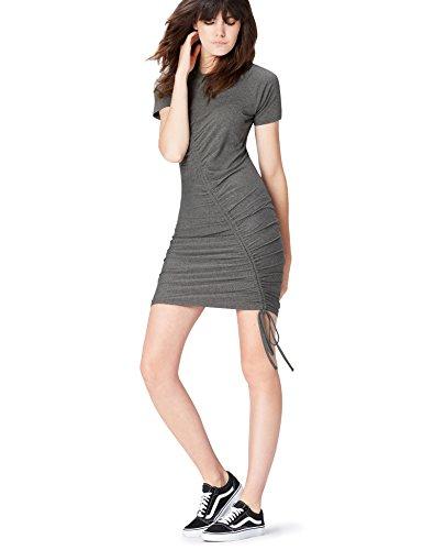 Jersey Grigio Grau FIND Vestito Donna in 7qn4xEO4A
