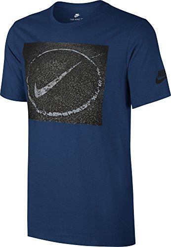 Nike M NSW Tee 43212Photo Maglietta a maniche corte, uomo Blu (binary blue)