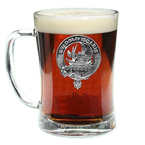 Beer Scottish (Campbell (Argyll) Scottish Clan Crest Badge Glass Beer Mug)