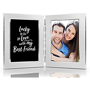 Amazon.com - Lucky to be In Love with My Best Friend Picture Frame ...